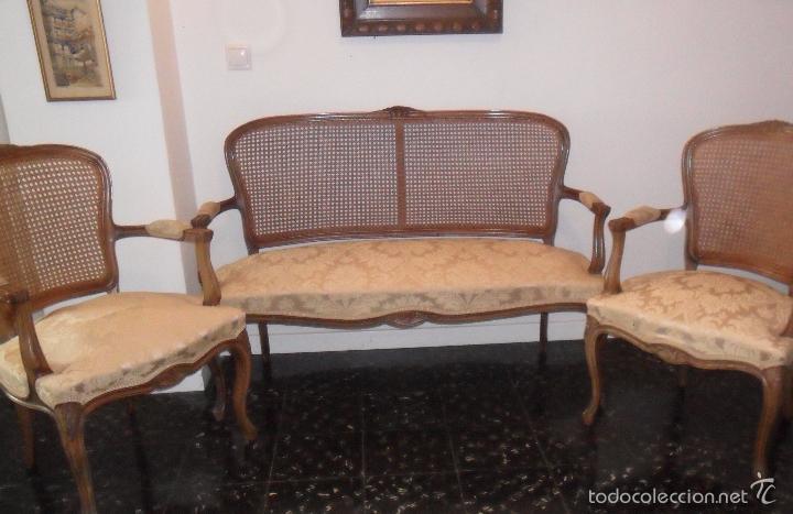 oferta especial sofa y pareja antiguos sillone comprar