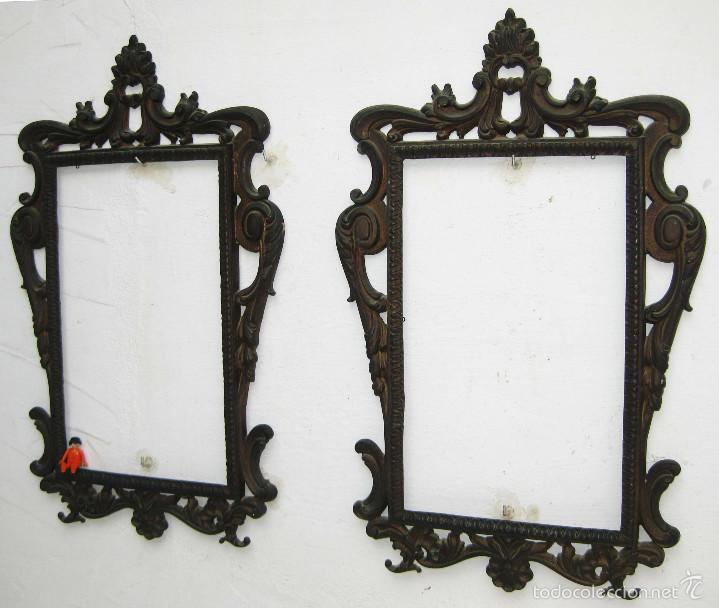 Decoradores y tiendas 2 marcos espejos cornuco comprar espejos antiguos en todocoleccion - Marcos espejos antiguos ...