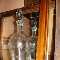 Antigüedades: ANTIGUA LICORERA DE LA REAL FABRICA DE LA GRANJA AÑOS 20.. Lote 60332559