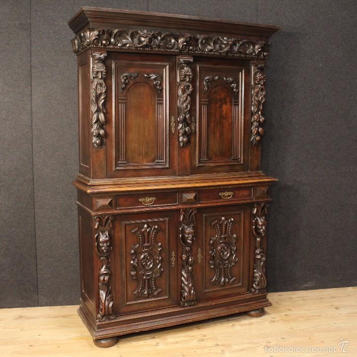 Antigüedades: Gran armario holandes de principios del siglo XX - Foto 2 - 60347335