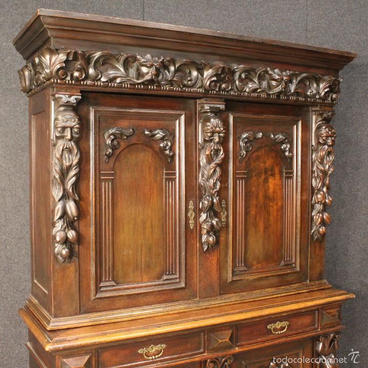Antigüedades: Gran armario holandes de principios del siglo XX - Foto 3 - 60347335