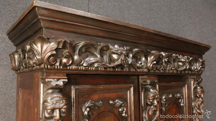 Antigüedades: Gran armario holandes de principios del siglo XX - Foto 4 - 60347335