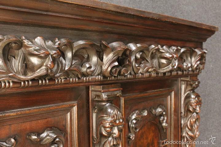 Antigüedades: Gran armario holandes de principios del siglo XX - Foto 5 - 60347335