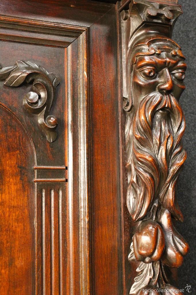 Antigüedades: Gran armario holandes de principios del siglo XX - Foto 7 - 60347335