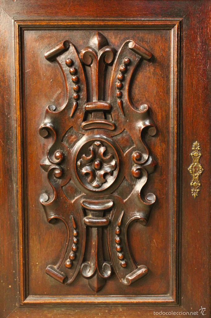 Antigüedades: Gran armario holandes de principios del siglo XX - Foto 10 - 60347335