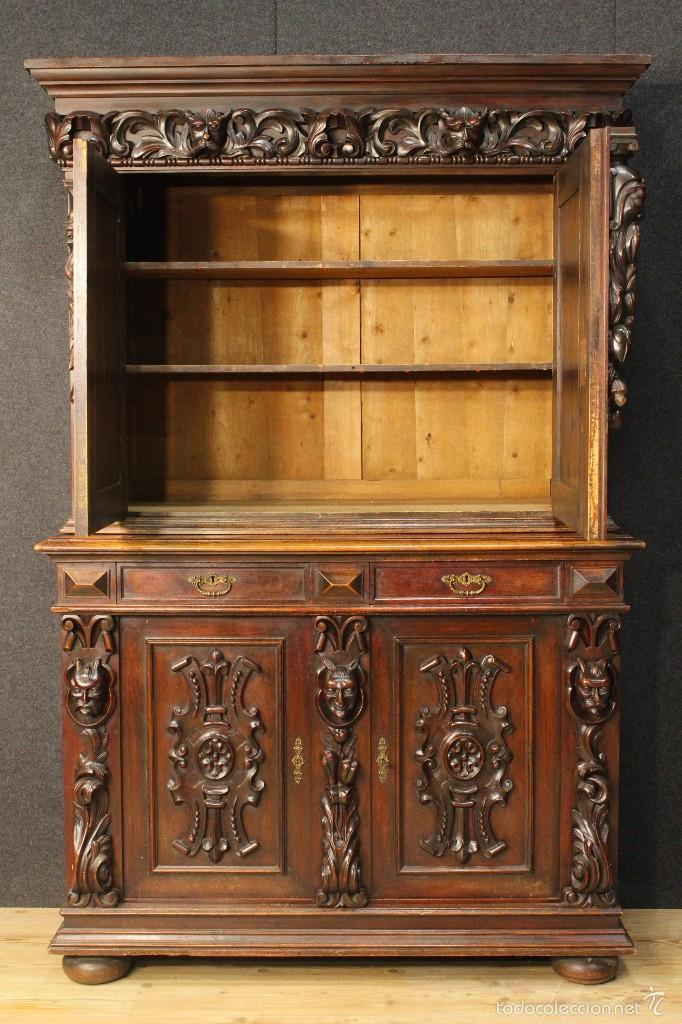 Antigüedades: Gran armario holandes de principios del siglo XX - Foto 15 - 60347335
