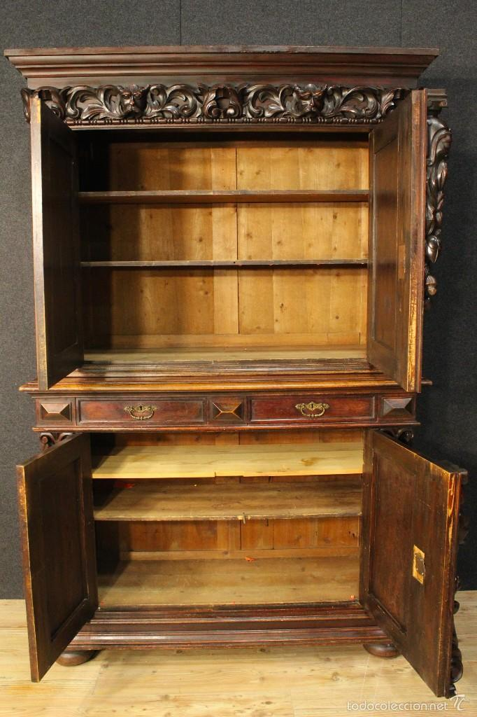 Antigüedades: Gran armario holandes de principios del siglo XX - Foto 16 - 60347335
