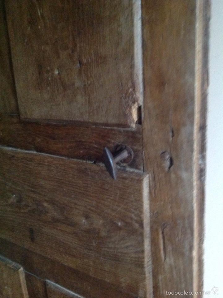 Antigüedades: Puerta rústica de nogal - Foto 2 - 60366030
