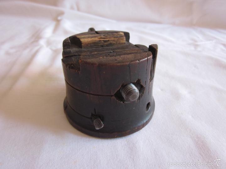 Antigüedades: Antigua prensa de s.XIX original - Foto 2 - 60389651