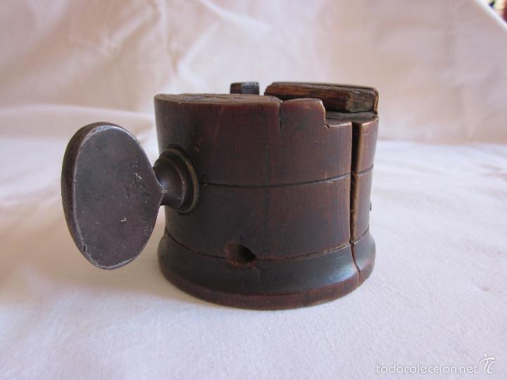 Antigüedades: Antigua prensa de s.XIX original - Foto 3 - 60389651