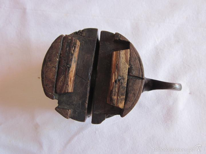 Antigüedades: Antigua prensa de s.XIX original - Foto 5 - 60389651