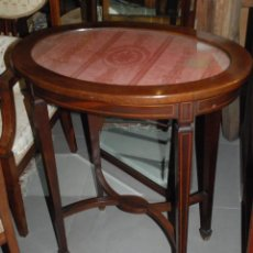 Antigüedades: PRECIOSA MESA VELADOR ESTILO MODERNISTA. Lote 60505039