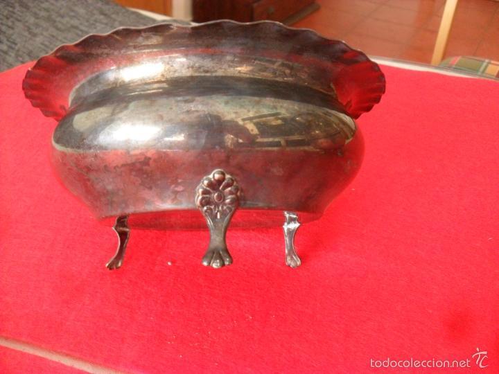 Antigüedades: bonito conjunto centro de mesa,faisanes,metal - Foto 7 - 60505911