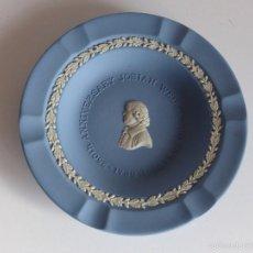 Antigüedades: CENICERO DE PORCELANA WEDGWOOD. 250 ANIVERSARIO JOSIAH WEDGWOOD. 1730- 1980. INGLATERRA. Lote 60511719