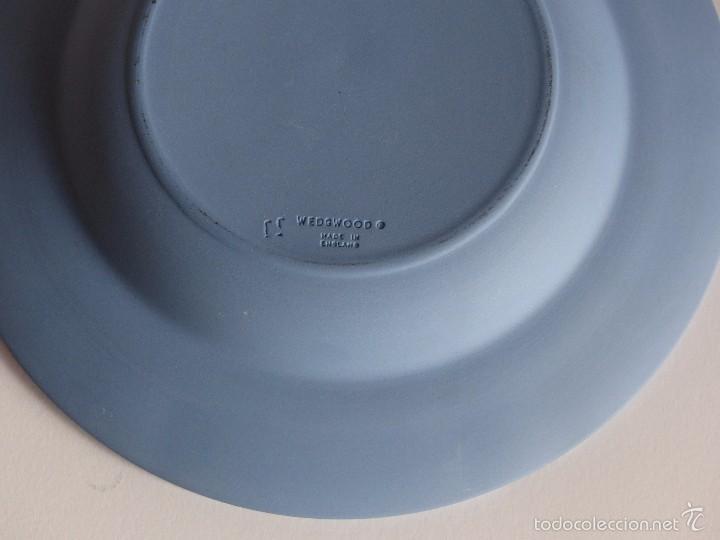 Antigüedades: Cenicero de porcelana Wedgwood. 250 aniversario Josiah Wedgwood. 1730- 1980. Inglaterra - Foto 2 - 60511719
