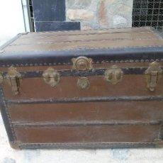 Antigüedades: BAUL AMERICANO ANTIGUO SUPREME TRUNK BAG Y CO. RICHMOND VIRGINIA EEUU 1920. Lote 60512567