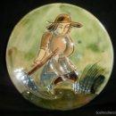 Antigüedades: PLATO DE CERAMICA VILA CLARA DE LA BISBAL... Lote 60530171
