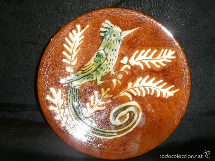 PLATO DE CERAMICA VILA CLARA DE LA BISBAL.. (Antigüedades - Porcelanas y Cerámicas - La Bisbal)