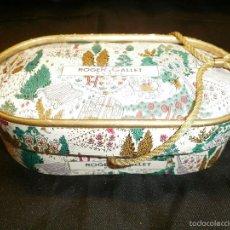 Antigüedades: ANTIGUA CAJA DE CARTON PARA JABON. ROGER GALLET. PARIS. Lote 60532591