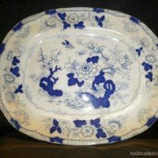 Antigüedades: ANTIGUA BANDEJA DE CERAMICA JAPONESA. Lote 60533571