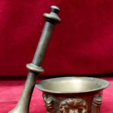 Antigüedades: ANTIGUO ALMIREZ REALIZADO EN BRONCE DEL SIGLO XVIII. Lote 60582275