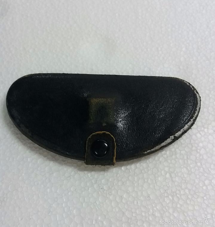 Antigüedades: Gafas lentes anteojos, sin patillas en estuche. - Foto 2 - 60604383
