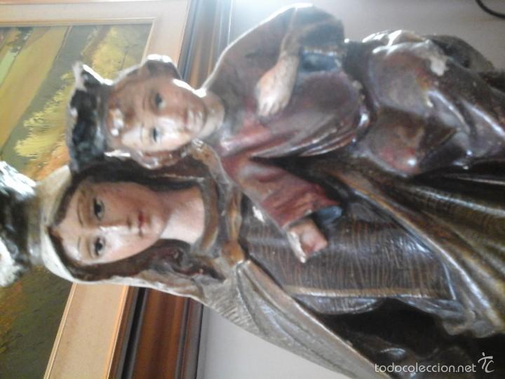 Antigüedades: Virgen del Carmen - Foto 2 - 60694055
