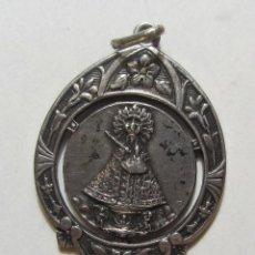 Antigüedades: ANTIGUA MEDALLA MODERNISTA DE PLATA VIRGEN DE GUADALUPE. Lote 60721179