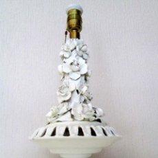 Antigüedades: LAMPARA DE CERAMICA DE MANISES AÑOS 60 35 CM. DE ALTURA. Lote 60725315