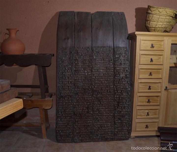 TRILLO GRANDE ANTIGUO (Antigüedades - Técnicas - Rústicas - Agricultura)
