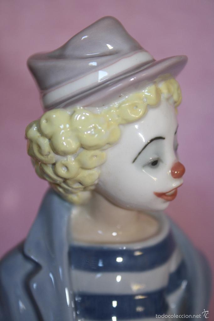 Antigüedades: Figura porcelana de sociedad de coleccionistas de Lladro ..PAYASITO CONTEMPLATIVO - Foto 6 - 60794415