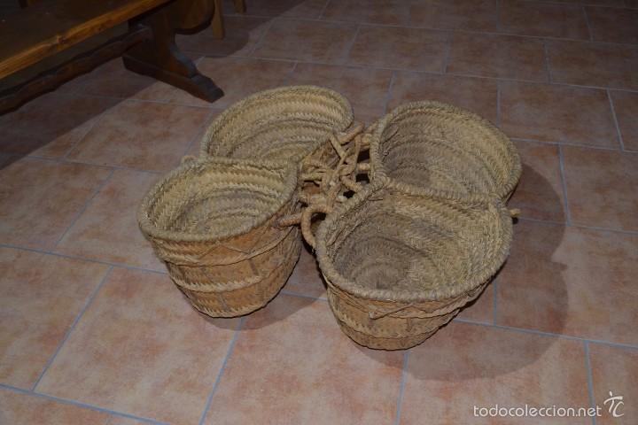 Antigüedades: Aguadera de esparto - Foto 2 - 60794879
