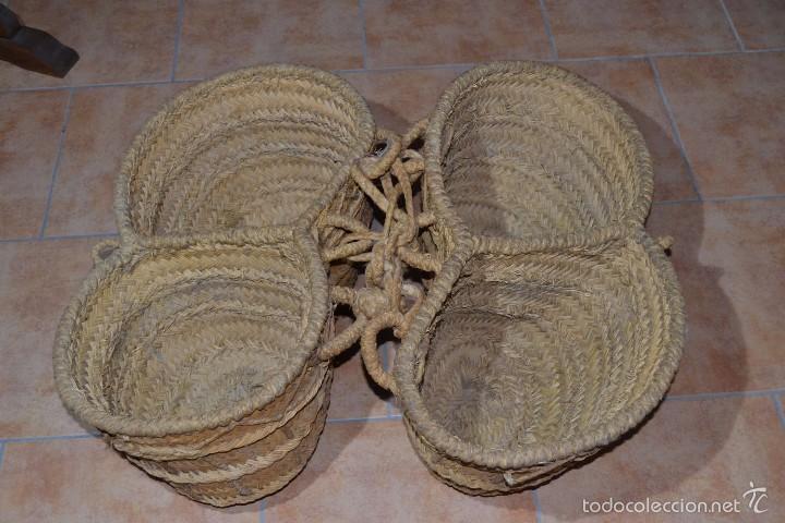 Antigüedades: Aguadera de esparto - Foto 3 - 60794879