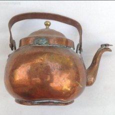 Antigüedades: TETERA DE COBRE. PPIOS S XX. Lote 60806779