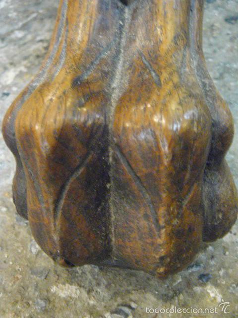 Antigüedades: MESA EXTENSIBLE DE NOGAL - Foto 8 - 60831343