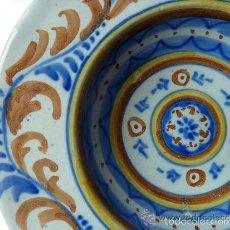 Antigüedades: PLATO CERAMICA TALAVERA. Lote 60856747