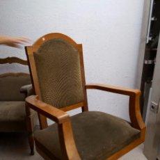 Antigüedades: UN SILLON GIRATORIO DE DESPACHO EN BUEN ESTADO . Lote 60891115