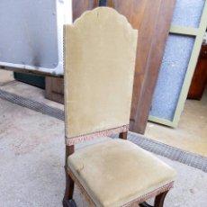 Antigüedades: SILLAS EN MADERA DE NOGAL, SIN RESTAURAR, EN BUEN ESTADO. Lote 60891311