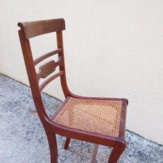 Antigüedades: CUATRO SILLAS SIN RESTAURAR . Lote 60891411