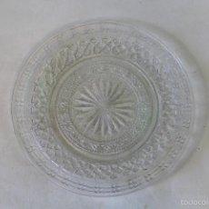 Antiguidades: PLATO EN CRISTAL DE SANTA LUCIA - CARTAGENA. Lote 60894575