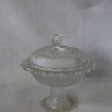 Antigüedades: COMPOTERA EN CRISTAL DE SANTA LUCIA - CARTAGENA. Lote 60902563
