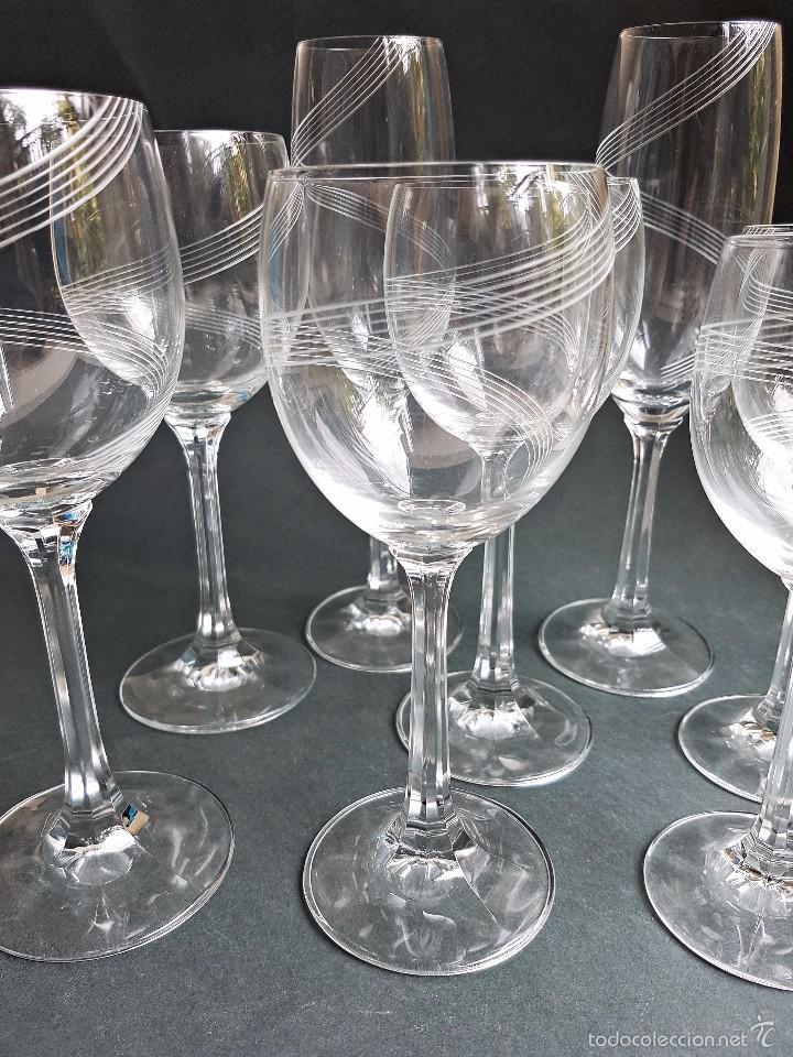 Copas vino cristal bohemia usado compra venta for Copas bohemia