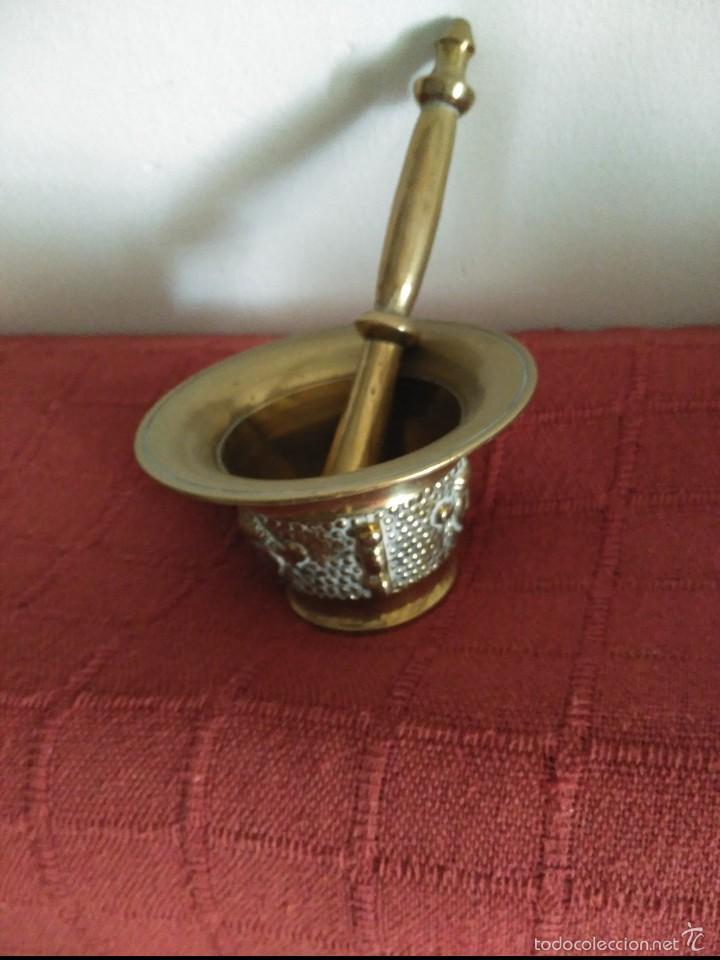 Antigüedades: mortero de bronce - Foto 2 - 60993547