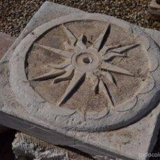 Antigüedades: PIEDRA NATURAL PARA GRIFO DE PARED. Lote 61005015