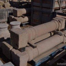 Antigüedades: COLUMNAS DE PIEDRA ANTIGUAS. Lote 61006343