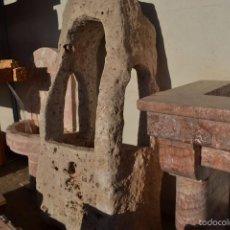 Antigüedades: PILA DE PIEDRA NATURAL PARA DECORAR JARDÍN. Lote 61013255