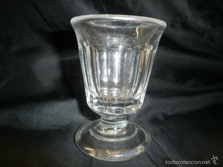 ANTIGUA COPA DE VIDRIO (Antigüedades - Cristal y Vidrio - Otros)