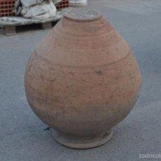 Antigüedades: TINAJA DE BARRO ANTIGUA. Lote 61021375
