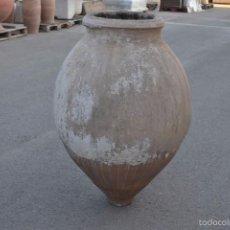 Antigüedades: TINAJA DE BARRO ANTIGUA. Lote 61021627
