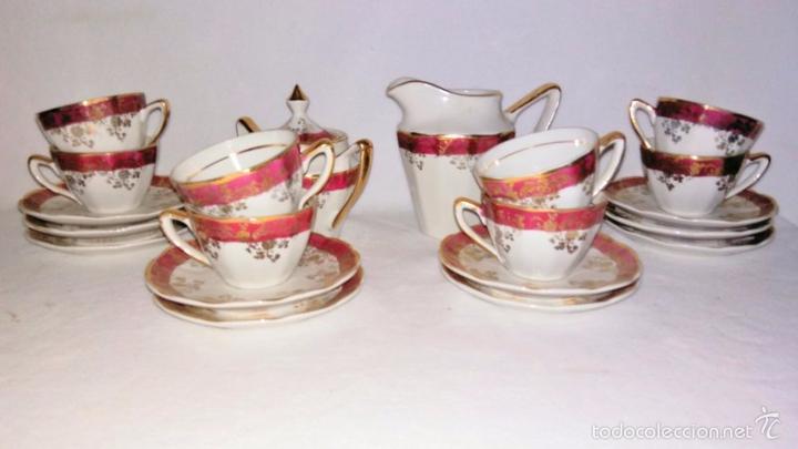 Antigüedades: Juego de café 8 piezas - Foto 4 - 36958465